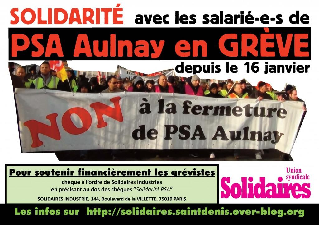 Renoncement dans syndicalisme psa-aulnay